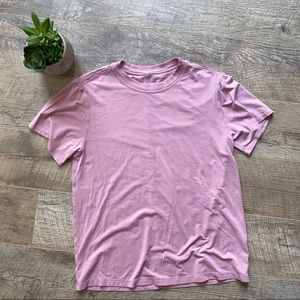 Lululemon Pink All Yours Tee